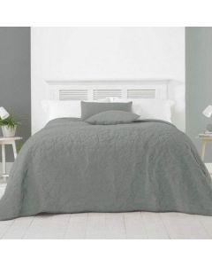 Alexa Bedspread - Grey - 240x260cm