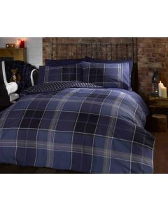 Argyle Duvet Cover Set - Blue