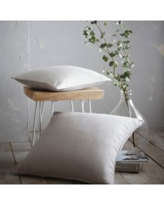 Aspect Feather Filled Cushion - White - 43x43cm