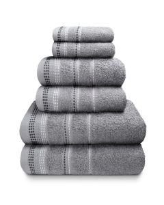 Berkley Towel Bales - Silver