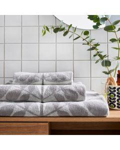 Orla Kiely Botanica Stem Towels - Grey