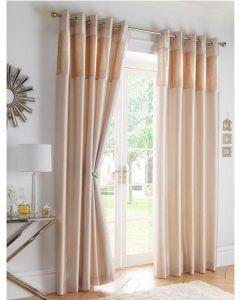 Boulevard Eyelet Curtains - Oyster