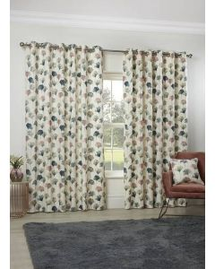Camarillo Flamingo Eyelet Curtains - Blush
