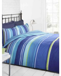 Cambridge Duvet Cover Set - Blue