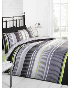 Cambridge Duvet Cover Set - Grey
