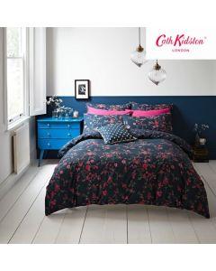 Cath Kidston Millfield Blossom Duvet Cover Set - Navy