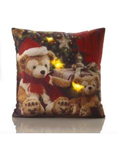 Teddies LED Cushion Cover - 45 x 45cm