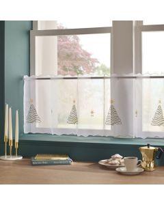 Christmas Tree Cafe Curtains