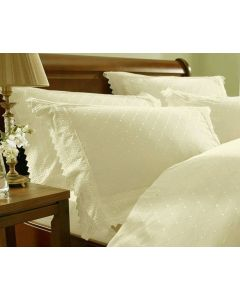 Balmoral Percale Pillowcase Pair - Cream