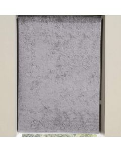 Crushed Velvet Roller Blind - Grey