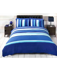 Detroit Duvet Cover Set - Blue