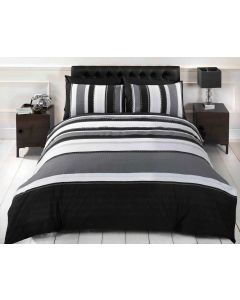 Detroit Duvet Cover Set - Grey