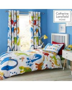 Catherine Lansfield Dino-Saw Duvet Cover Set