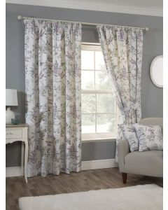 Dragonfly Pencil Pleat Curtains