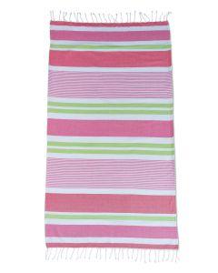 Funky Stripe Beach Towel - Brights