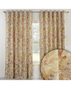 Giverny Eyelet Curtains - Sienna