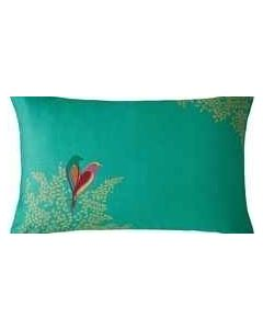 Sara Miller Green Birds Pillowcase Pair