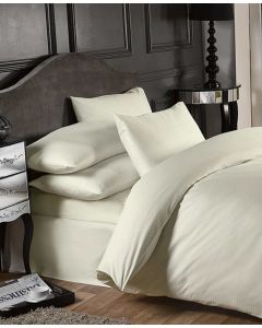 Grosvenor Fitted Sheets - 1000 TC - Cream