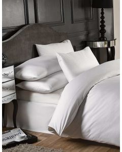 Grosvenor Fitted Sheets - 1000 TC - White