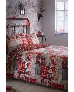 Ho Ho Ho Christmas Duvet Cover Set