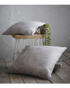Hot House Filled Cushion - Dove Grey - 43x43cm