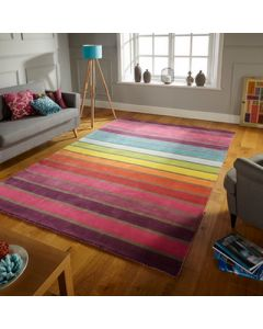 Illusion Candy Rug - Multi