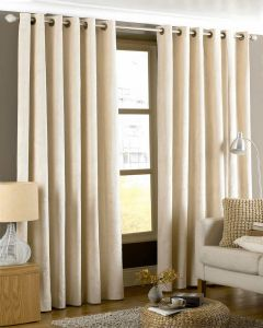 Imperial Eyelet Curtains - Cream