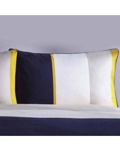 Karen Millen Colourblock Pillowcase Pair