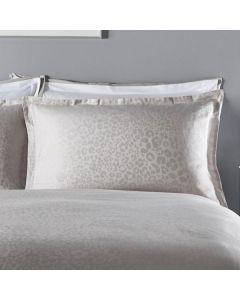 Karen Millen Jacquard Standard Pillowcase Pair - Leopard
