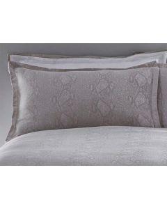 Karen Millen Jacquard Standard Pillowcase Pair - Snakeskin