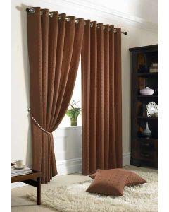 Madison Curtains - Burnt Orange