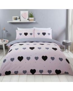 Miley Duvet Cover Set - Blush