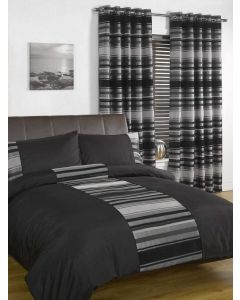 New York Bedding Set - Black