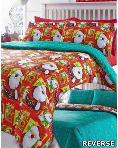 North Pole Duvet Cover Sets - Red
