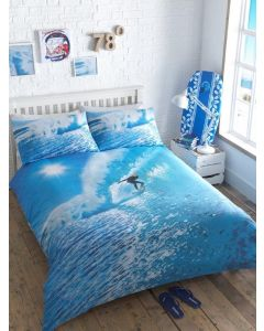Ocean Surfer Duvet Cover Sets