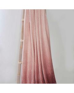 So Soft Ombre Velvet Touch Throw - Blush - 150x200cm