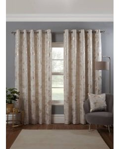 Osaka Eyelet Curtains - Natural