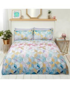 Multi Quartz Duvet Cover Set