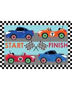Race Cars Rug