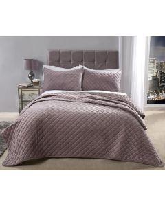 Regent Bedspread Set - Heather