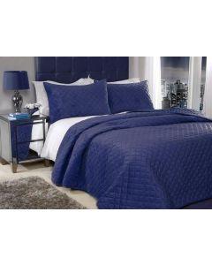 Regent Bedspread Set - Navy