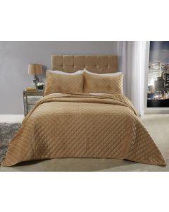 Regent Bedspread Set - Ochre