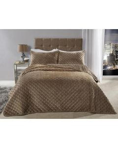 Regent Bedspread Set - Taupe