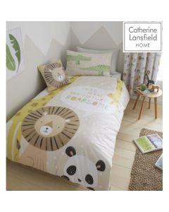 Catherine Lansfield Roarsome Animal Duvet Cover Set