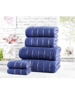 Sandringham Towel Bales - Navy