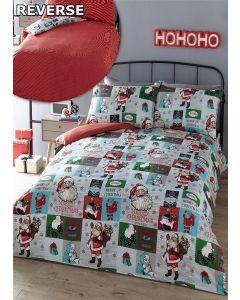 Santa Block Duvet Cover Sets