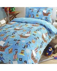 Sea Pirates Duvet Cover Set