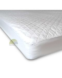 Quilted mattress and pillow protectors