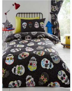 Sugar Skulls Bedding Set