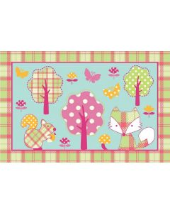 Woodland Animals Rug